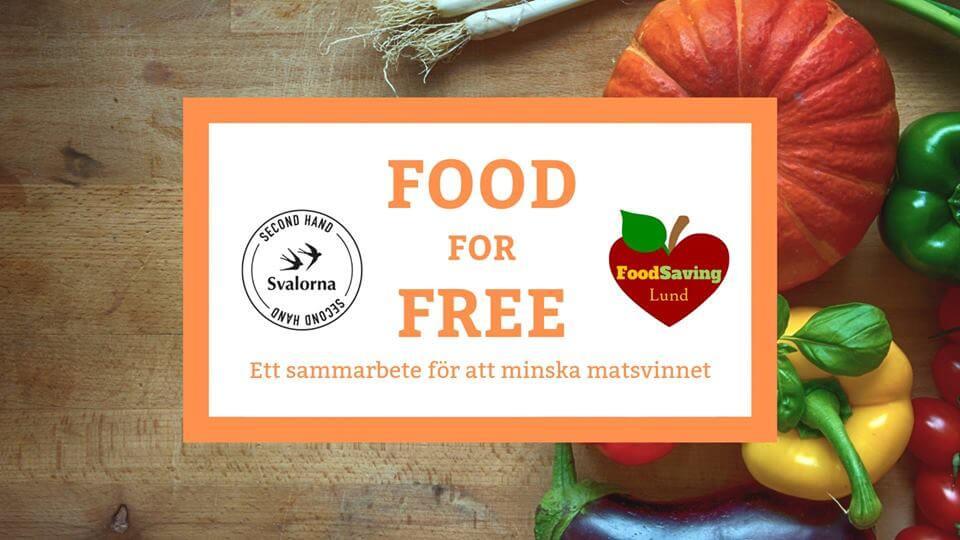 Food for free - Gratis mat i butiken